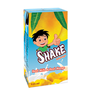 Shake Mango Milk 125ml